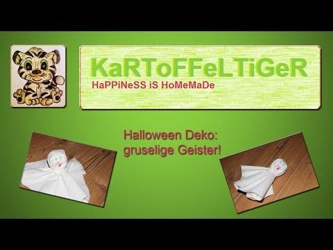 DIY - Halloween Deko - Wir basteln einen gruselige
