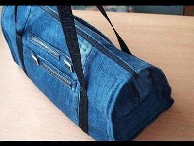 Diy jeans tasche. Tasche jeans nähen.