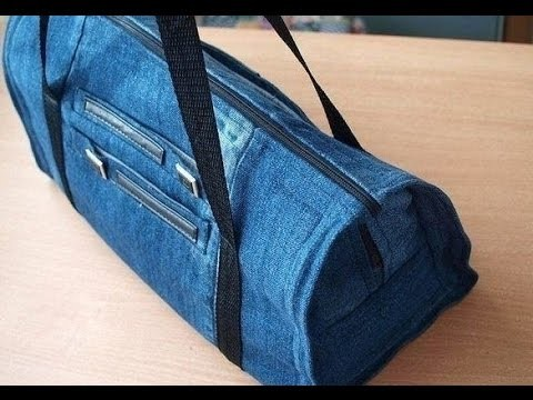 diy jeans tasche tasche jeans n hen. Black Bedroom Furniture Sets. Home Design Ideas