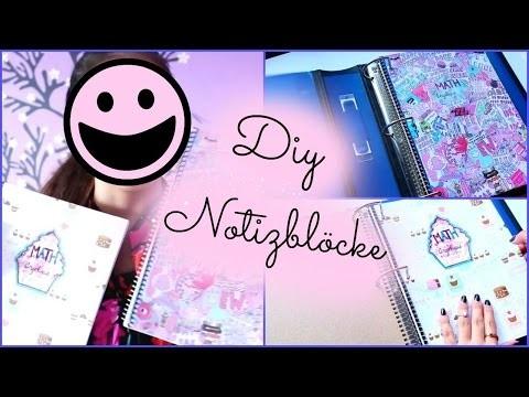 DIY Notizblöcke ♥