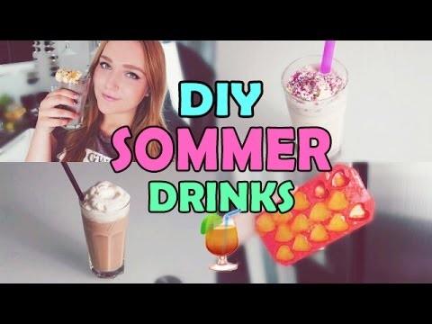 DIY Sommergetränke | MILCHSHAKE Selber Machen | EISTEE Schnell & Einfach  Alkoholfreie Getränke 2015