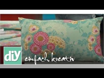 Sommer-Kissen nähen | DIY einfach kreativ