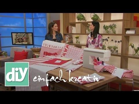 Tischdecke im Patchworklook | DIY einfach kreativ