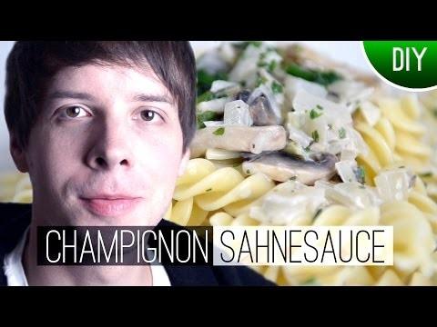 DIY: Champignon Sahnesauce Rezept | Marks Welt