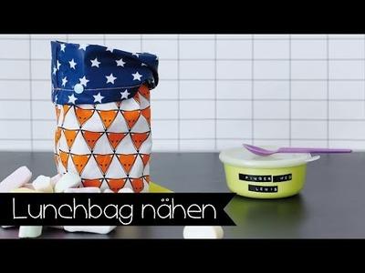 Lunchbag einfach selber nähen I Brottüte I DIY I Stoffe.de I Ideen I KINNERTiED #38