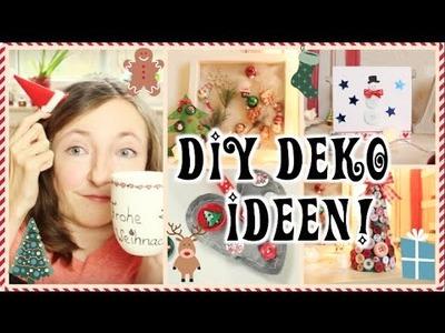 DIY Deko Ideen für WEIHNACHTEN mit Knöpfen! #LaurasWinter