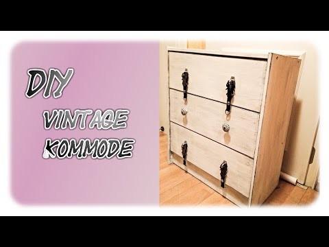 DIY: Shabby Chic Vintage Kommode (GGL- Style)