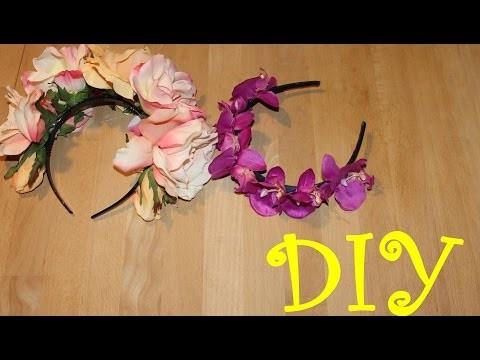 Blumenschmuck wie Lana del Rey- DIY 2014 #4
