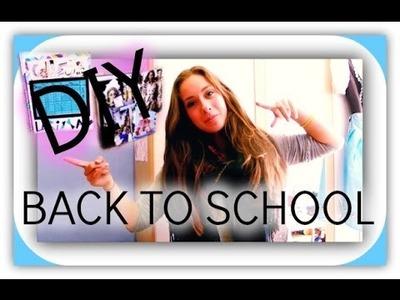 BACK TO SCHOOL I DIY + Organisation Hacks