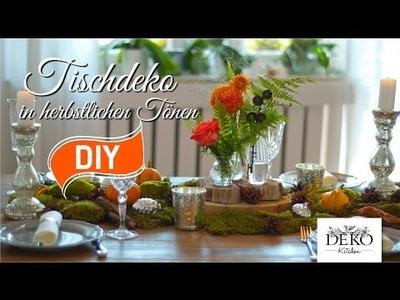 DIY: festliche Tischdeko für den Herbst | Deko Kitchen