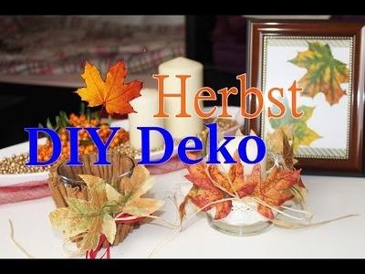 DIY Herbst Dekoration