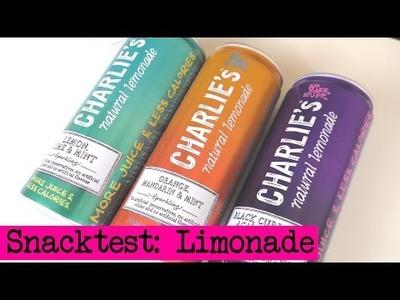 DIY Inspiration Snacktest: Charlie's natural Lemonade. Limonade im Geschmackstest