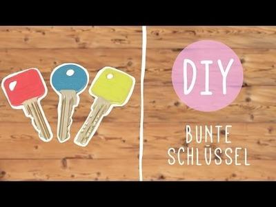 DIY Schlüsselbund mit Nina: Farbe in den Alltag bringen!