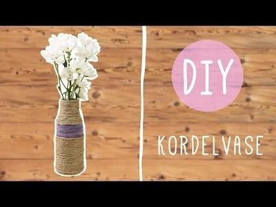 DIY mit Nina Moghaddam: Süße Kordelvase