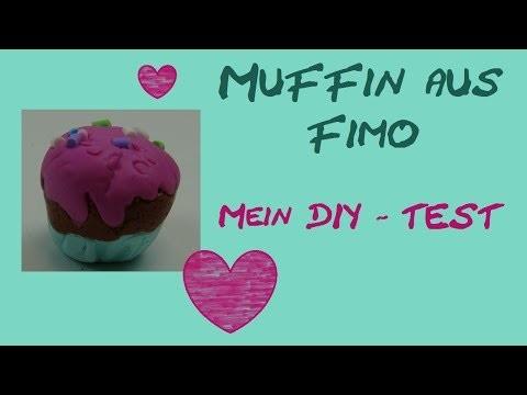DIY-Test: Fimo Silikon-Form. Muffin. Cupcake (von Aniela. Anielas Fimo)
