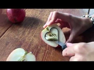 DIY Vogelfutter in Äpfeln - macht Euch bereit für den Winter