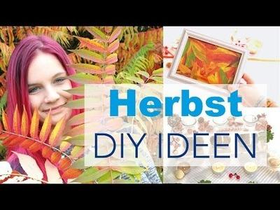 HERBST DIY DEKO IDEEN