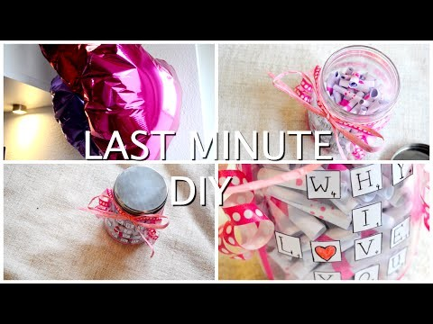 LAST MINUTE DIY Valentines Day Gift. Easy & Cheap! ♡