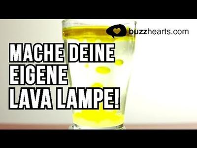 Mache deine eigene Lava Lampe! - DIY