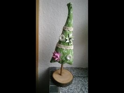 Weihnachtsbaum Näh-Anleitung, Dekobaum DIY