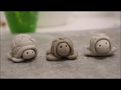 DIY: Schildkröte aus Ton und Keramik formen (basteln)