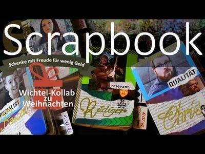 DIY - Scrapbook - günstige Geschenk-Idee oder Wichtelgeschenk selbst gemacht