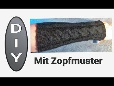 Lange Armstulpen stricken -  DIY