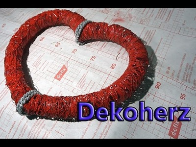 Dekoherz ganz einfach zum selber machen - DIY Deko -