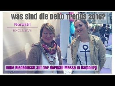 DIY-Deko Ideen zum selber machen - Deko Ideen Norstil Messe Hamburg 2016 mit Imke Riedebusch