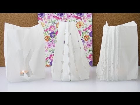 DIY Inspiration Challenge #41 Butterbrottüten | Kathis Challenge | Tutorial - Do it yourself