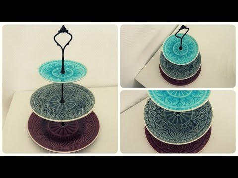 Etagere selber machen * Cake Stand DIY [eng sub]