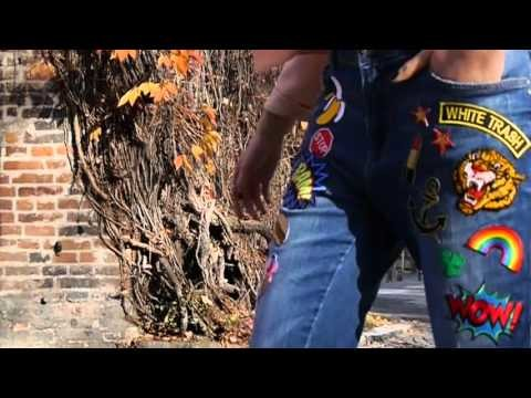 #MADEMOISELF DIY Fashion Tutorial: Patched Jeans selbst machen