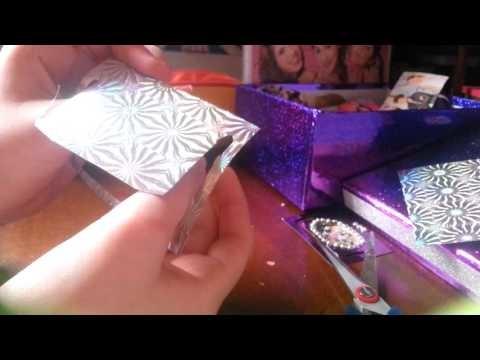 Violetta DIY:  Violetta Lesezeichen selber machen