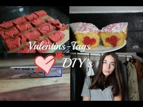 3 DIY Valentinstag Ideen I Herzkuchen, gefülltes Toast.