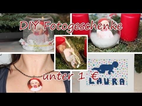 5 Fotogeschenke Unter 1 Selber Machen Geburtstag Diy Photo Gift
