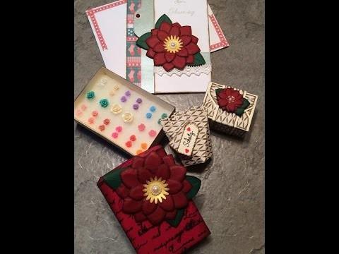 [Craft-Update] #1 - Geschenkverpackungen, Schmuck + Karte