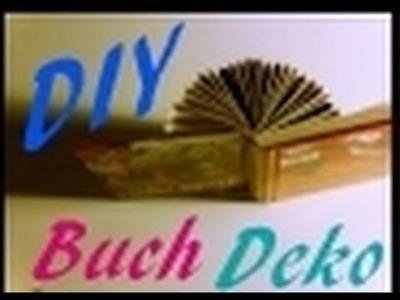 DIY-Dekoidee mit altem Buch    #13  |  Do It Yourself