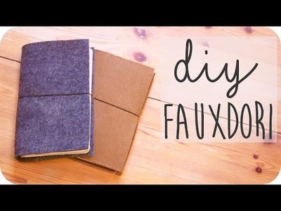 DIY Fauxdori aus Filz • einfach, günstig, ohne Leder