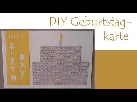DIY Geburtstagskarte (Origami)