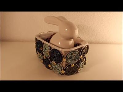 DIY: * Oster Special * Osternest Osterkorb aus Kaffeekapseln l Basteln zu Ostern # 3