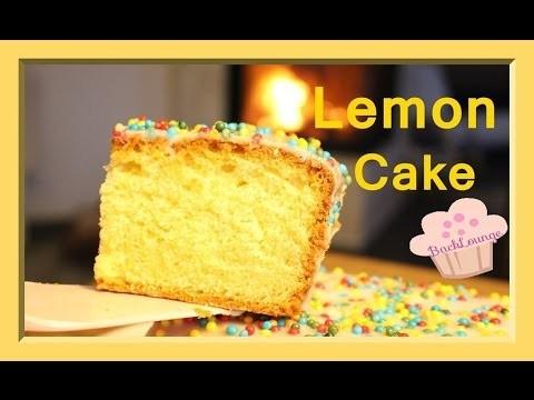 Diy Zitronen Kuchen Lemon Cake Schnell Einfach Selber Machen