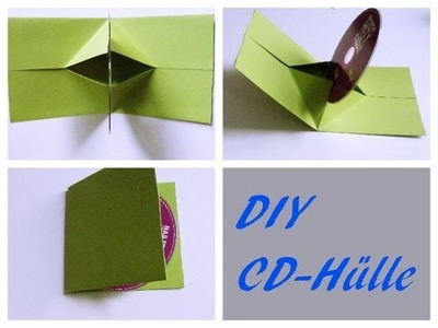 DIY- CD-Hülle   |selber machen | CD cover  | Do It Yourself