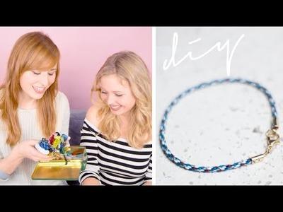 DIY edles Armband mit Klein aber Hannah