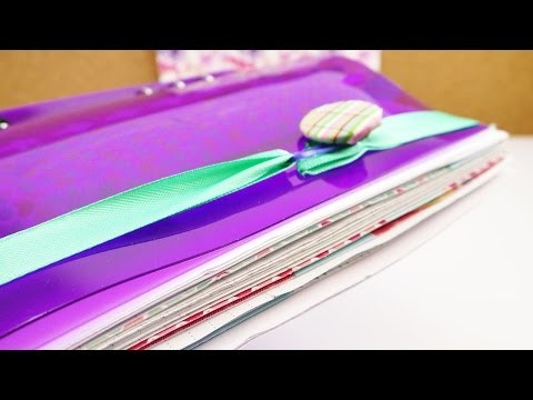 DIY Filofax Idee Lesezeichen & Kalenderverschluss | Für Filofax, Lieblingsbuch, Tagebuch basteln