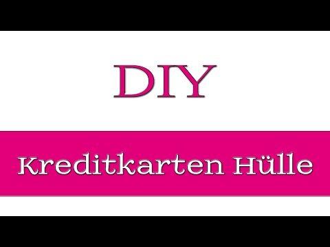 DIY - Fuse Tool - Kreditkarten Hülle. Creditcardholder [deutsch.german)