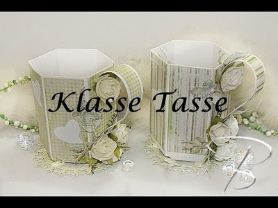 DIY: Klasse Tasse mit dem Envelope Board von Joy!Crafts