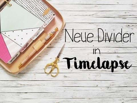 DIY | Neue Divider für die Kate Spade | Timelapse