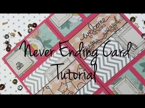 DIY Never-Ending-Card [ tutorial   deutsch]