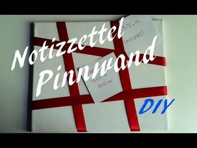 DIY- Notizzettel-Pinnwand  | Do It Yourself