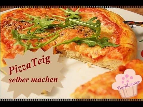 DIY Pizzateig Rezept. Pizza schnell & einfach selber backen. Back Lounge Rezepte 2015